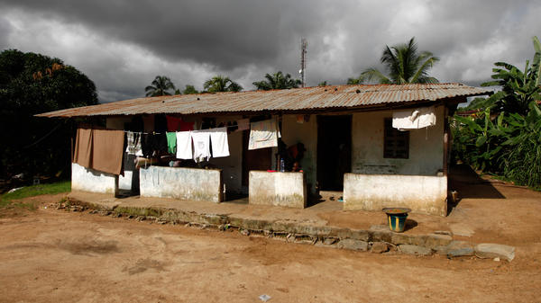 Duncan rented a room in this home, owned by the family of Marthalene Williams, the pregnant woman who died of Ebola.