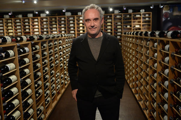Spanish star chef Ferran Adria, of the award-winning restaurant elBulli in Spain. Adria permanently closed his restaurant in 2011, but plans to reopen it as a museum and center for creativity.