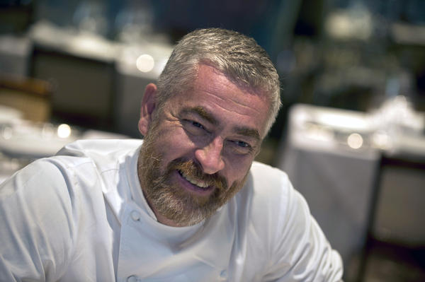 Brazilian chef Alex Atala at his D.O.M. restaurant in Sao Paulo, Brazil in 2013. Atala founded the ATA Institute to focus on food sustainability issues in the Amazon.