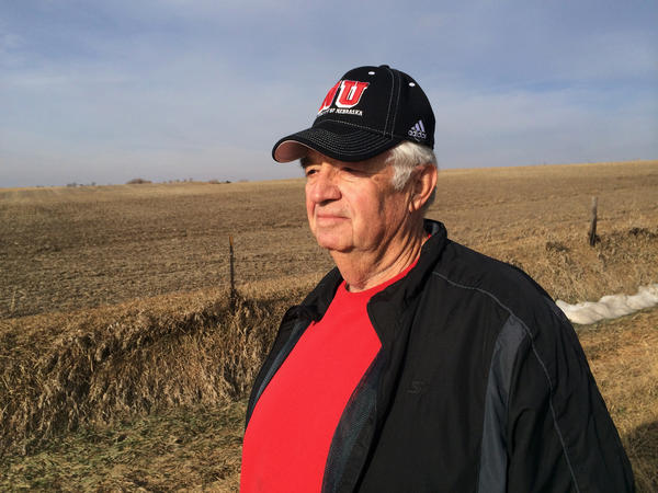 Jim Klute was quick to sign on when TransCanada approached him about allowing the pipeline on his land. He says he's more concerned about a nearby railroad than potential leaks from the proposed pipeline.