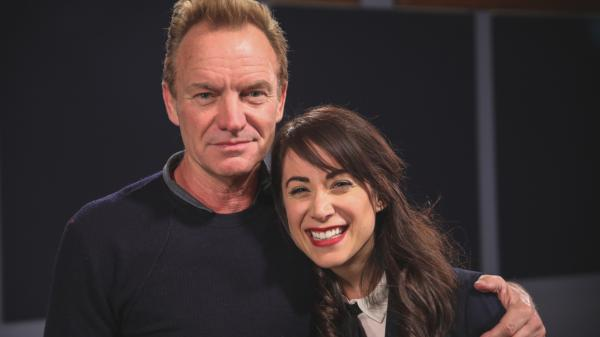 Sting is interviewed by <em>World Cafe</em>'s new full-time host, Talia Schlanger, in this session.