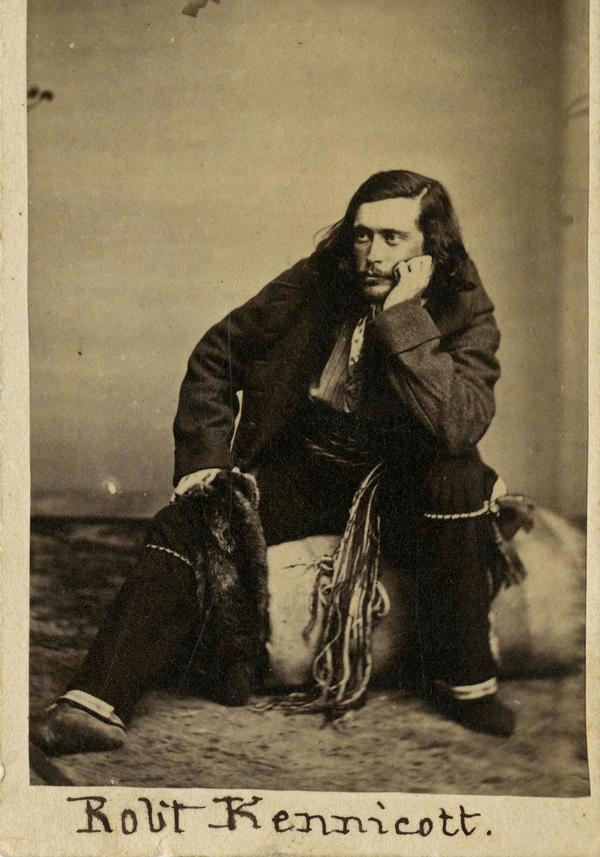 Robert Kennicott in his field outfit, circa 1860s.