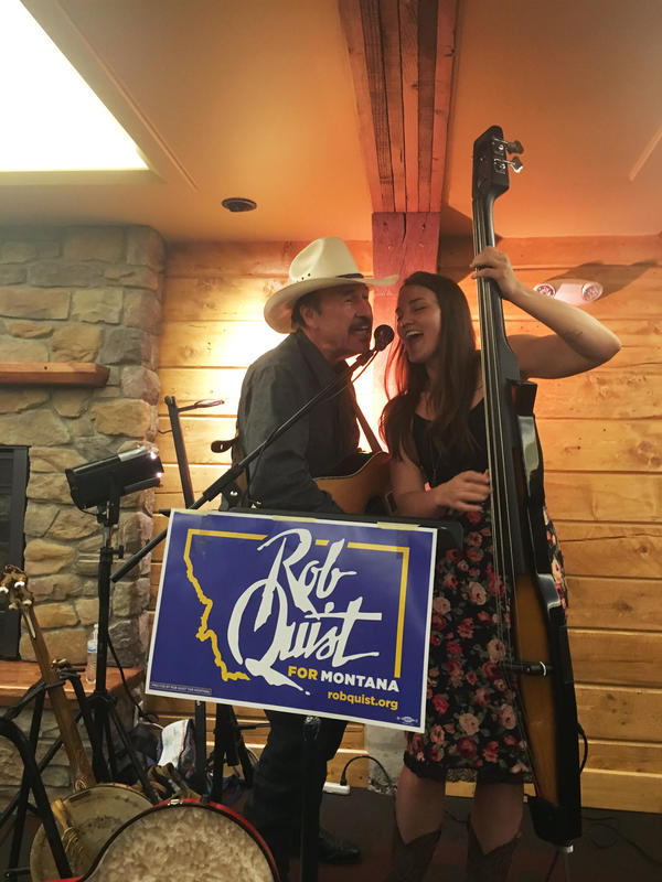 Rob Quist is the Democrat running in the Montana special election.