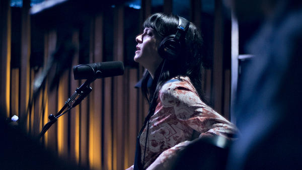 "Nashville-based country singer Nikki Lane performs ""Jackpot"" for KCRW."