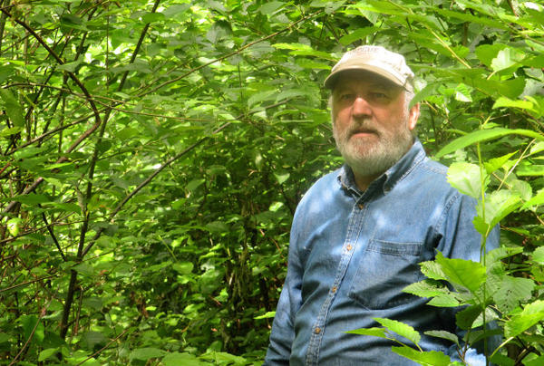 <p>Recently-retired forester John Barnes</p>