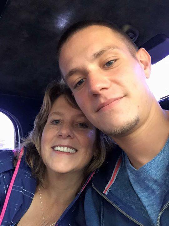 Patty with her son Eric. (Courtesy)