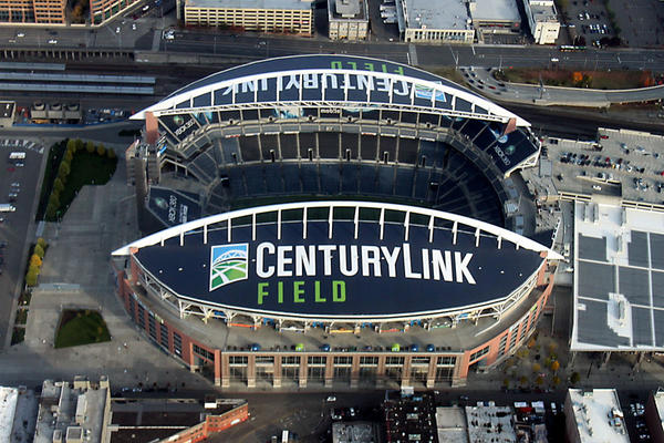 File photo. CenturyLink will pay nearly $163 million over 15 years to retain the naming rights to CenturyLink FIeld in Seattle.