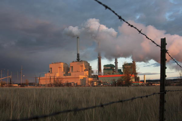 The Colstrip Generating Station near Colstrip, Mont., is the second-largest coal-fired power plant in the West. Two of its four units are scheduled to close by 2022, if not sooner.