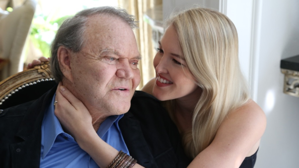 Glen Campbell's daughter Ashley played banjo on his final album, <em>Adiós.</em>