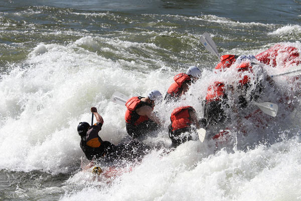 Water levels have been high in the Northwest's rivers. That's created an uptick in business for whitewater rafting outfits, but also some challenges.