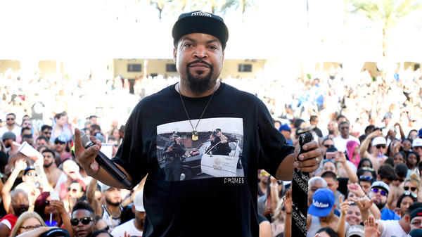 Ice Cube, performing on May 6, 2017 in Las Vegas, Nevada.