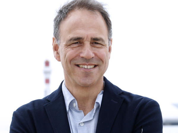 Anthony Horowitz, pictured here in 2016, is also the author of the Alex Rider books, a young adult spy series.