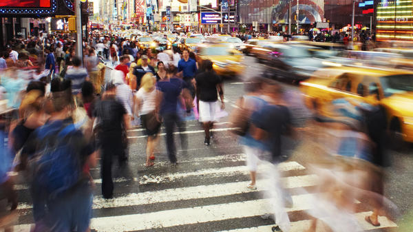 Cars are less likely to stop when people of color step into intersections, a study says.