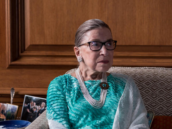 Supreme Court Justice Ruth Bader Ginsburg, photographed in her chambers in September 2016, wrote for the majority.