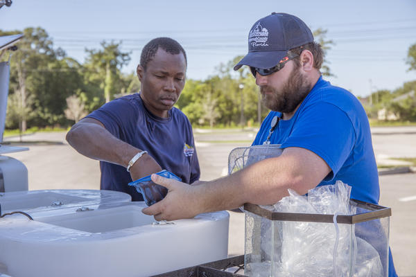 "Hillsborough County Mosquito Control is giving out free ""mosquito fish"" for residents to put in unused swimming pools, fountains, and other standing water on their property."
