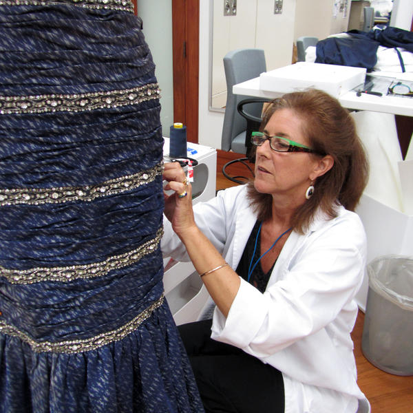 "Julia Brennan, owner of <a href=""http://www.caringfortextiles.com/"">Caring for Textiles</a>, always knew she had excellent eyesight and now wonders whether it's part of what inspired her choice of career."