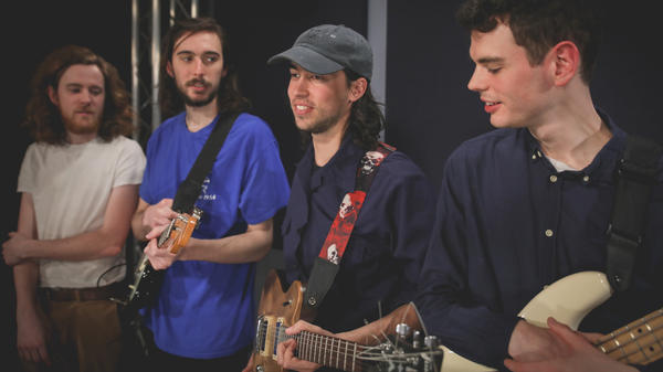 (Sandy) Alex G plays live in the <em>World Cafe</em> performance studio.