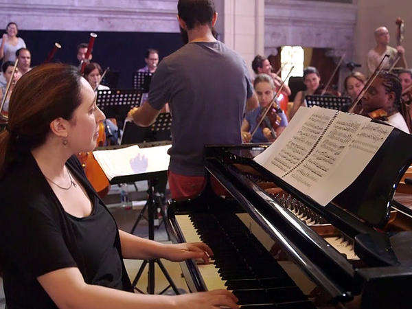 Brooklyn-based pianist Simone Dinnerstein traveled to Cuba to make her recent album with a young orchestra from Havana. Now they're on tour in the U.S.