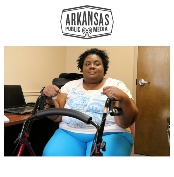 Shakica Washington is a Medicaid patient who attends weekly group therapy sessions at Little Rock's Community Mental Health Center.