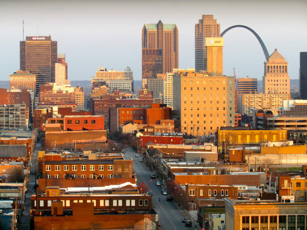 Historic tax credits played a major role in redeveloping parts of Downtown St. Louis.