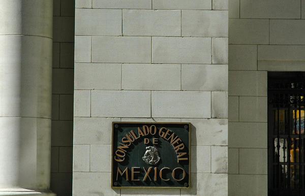 The Mexican Consulate in San Antonio