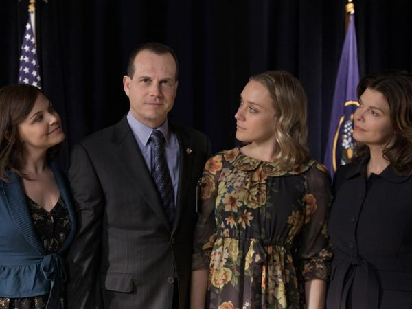 <em>Big Love</em>, the HBO drama starring Ginnifer Goodwin (left), Bill Paxton, Chloe Sevigny and Jeanne Tripplehorn, came to an end March 20 after five seasons.