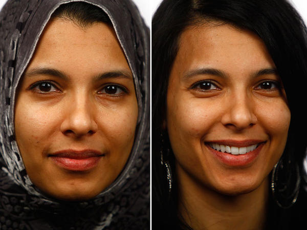 When Nadia Shoeb moved to the U.S. for boarding school, she decided to wear the hijab. She wore the scarf for five years before taking it off. Shoeb is one of 12 women who described for NPR why they stopped wearing the headscarf.