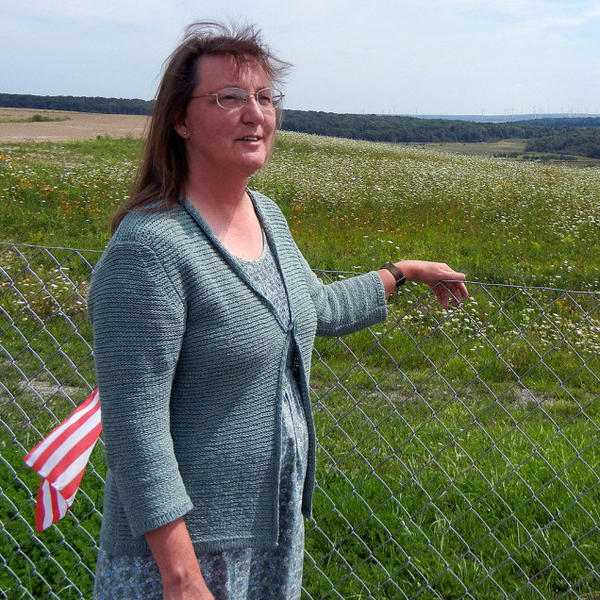 "Donna Glessner, a volunteer with Friends of Flight 93, says the memorial is a ""landscape memorial,"" meaning that the crash site itself is the memorial to those that died when United Flight 93 crashed on Sept. 11, 2001."