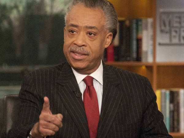 The Rev. Al Sharpton is the host of MSNBC's <em>PoliticsNation</em>.