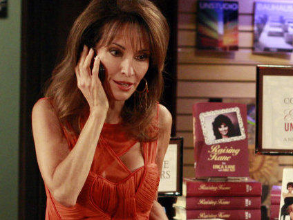 Susan Lucci's character, Erica Kane, has served time for kidnapping, been accused of murder and cheated on her fifth and sixth husband, Travis, with his brother, Jackson — who later became Kane's 10th husband.
