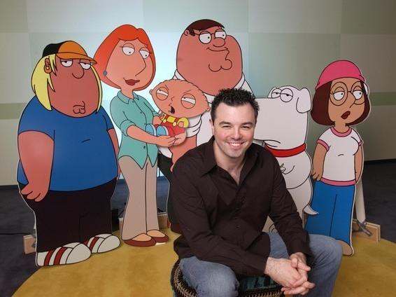 <p>Seth MacFarlane is the creator of the animated sitcoms <em>Family Guy</em>, <em>American Dad!</em> and <em>The Cleveland Show</em>. </p>