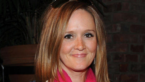 <p>Comedian Samantha Bee, seen here in April 2011, is writing about parenting at her new blog.</p>