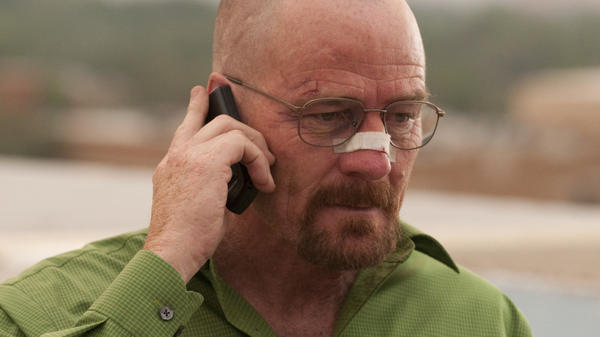 <p>Over the past few seasons, Walter White (Bryan Cranston) has changed from meek hero to forceful villain. TV critic David Bianculli says he isn't just breaking bad anymore...he's entirely broken.</p>