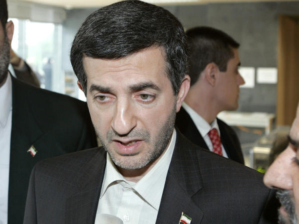 <p>The banking scandal has political implications in Iran, and the president's top adviser, Rahim Mashaei, has come under criticism. He's shown here in 2007.</p>