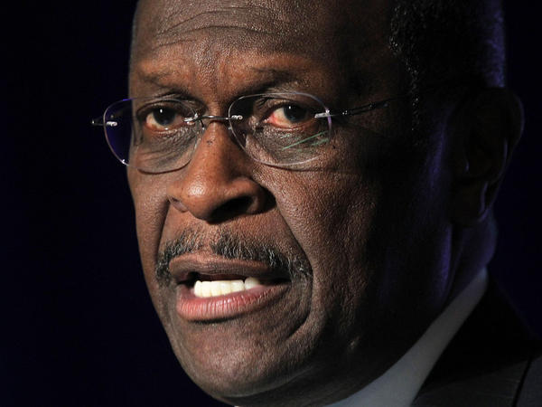 Republican presidential candidate Herman Cain spoke in Virginia on Wednesday.