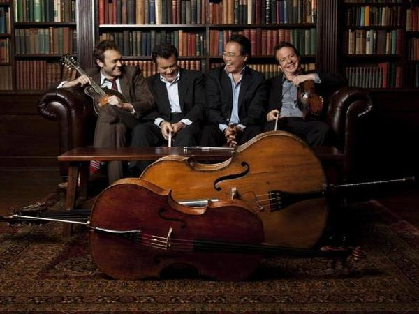 Yo-Yo Ma's latest Americana exploration features his work with mandolinist Chris Thile, bassist Edgar Meyer and fiddler Stuart Duncan.