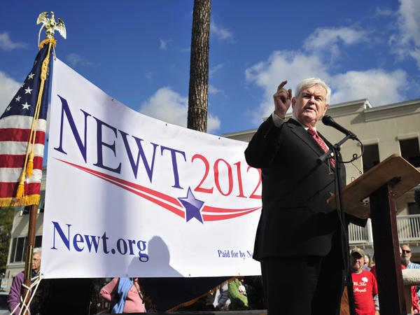 Newt Gingrich in Bluffton, S.C., Tuesday, Nov. 29, 2011.
