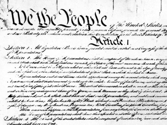 The people have spoken: NPR readers would add four new amendments to the Constitution.