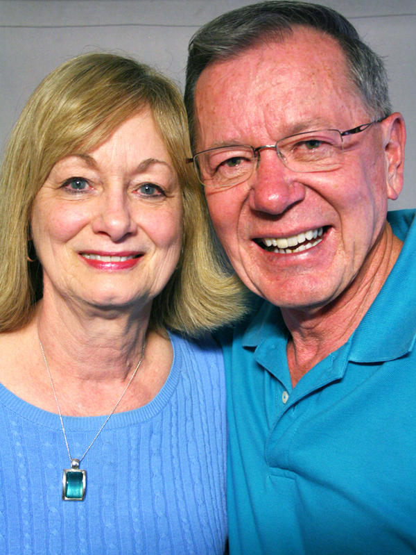 Buelah and Dennis Apple spoke about their son Denny during a visit to StoryCorps in Kansas City, Mo.