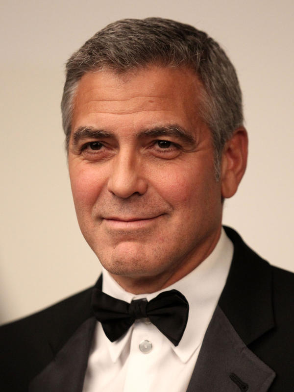 George Clooney at the 17th Annual Critics' Choice Movie Awards held in January.