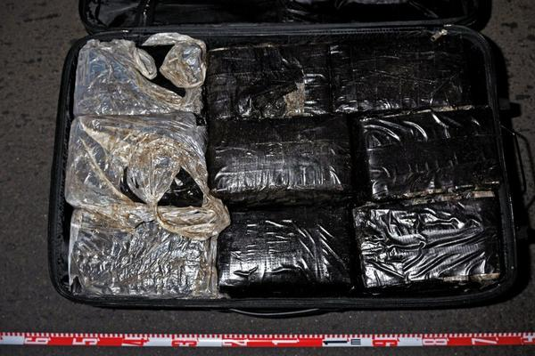 An image released Nov. 14, 2011, by the Australian Federal Police shows cocaine seized during the yacht raid in Bundaberg. Drug smugglers take advantage of Australia's long coastline and many harbors.