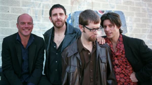 Cotton Mather (from left): Dana Myzer, Josh Gravelin, Whit Williams and Robert Harrison.
