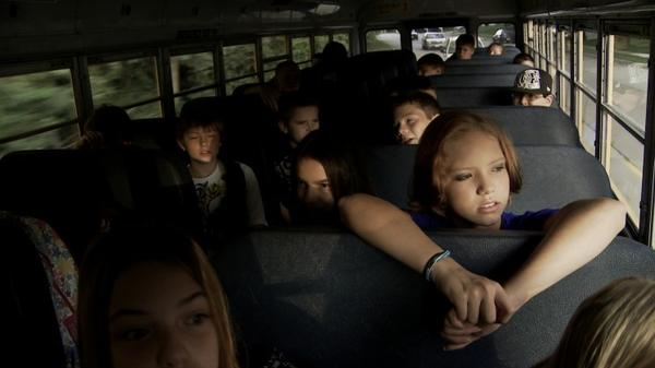<strong>Road Rage:</strong> As documented in <em>Bully, </em>the school bus is a prime venue for students who target other students for verbal and physical abuse.