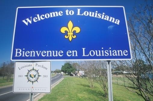 Today, all that marks the state line between Texas and Louisiana are welcome signs. After independence, those signs would most likely be replaced with the customs and immigration checkpoints that come with any border crossings.