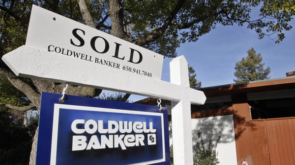 A recently sold home in Palo Alto, Calif. Home inventory is declining nationwide, and real estate agents say they are seeing more interest among would-be buyers.