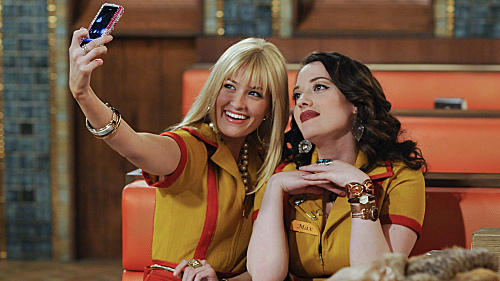 Beth Behrs and Kat Dennings star on CBS's <em>2 Broke Girls</em>.