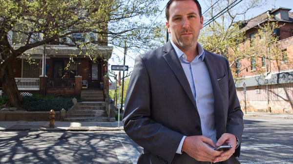 Philadelphia Police Detective Joseph Murray of West Philadelphia is an advocate of police tweeting to help engage the community in fighting crime.