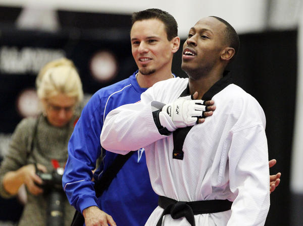 In March, Jennings earned his way to London by defeating Mark Lopez of Sugar Land, Texas, in an Olympic team trials taekwondo match.