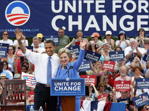 "There was the ""endless nastiness"" between Sens. Hillary Rodham Clinton and Barack Obama in their battle for the 2008 Democratic nomination."