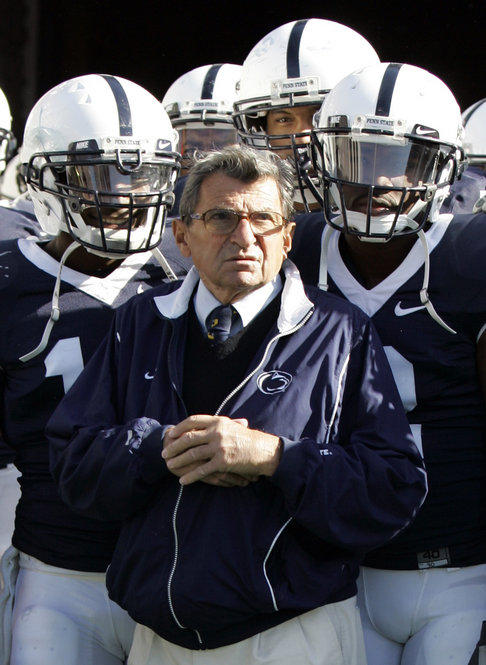 Joe Paterno, the longtime Penn State coach who won more games than anyone in major college football, died Sunday. He was 85.